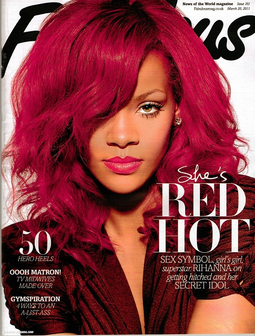 rihanna ugly red hair. rihanna ugly red hair. rihanna red hair up. feeling