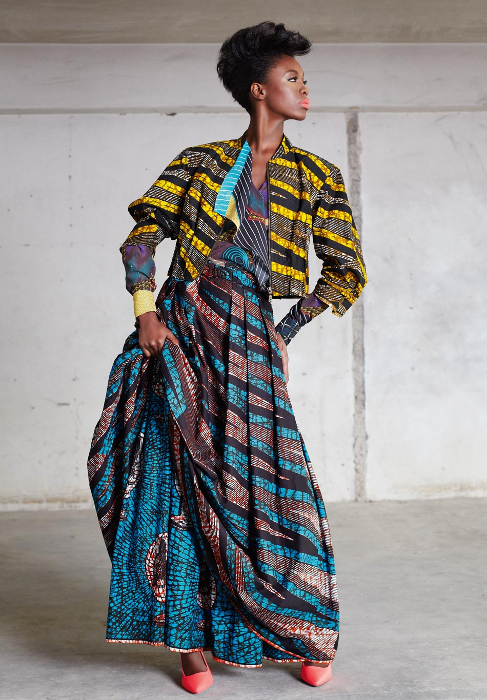 African Fashion Week Nc: The Funky Grooves Collection By Vlisco « Fashion Trend Alerts